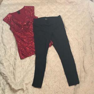 Ann Taylor leggings size small